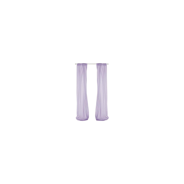 Glenna Jean Penelope Sheer Panel, Lavender/Mint/White