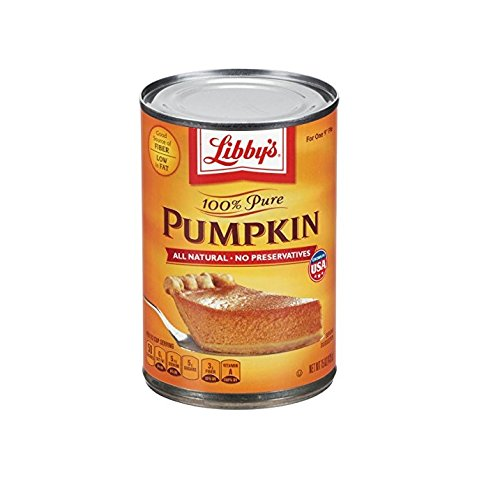 Libby's 100% Pure Pumpkin, 15-Ounce (Pack of 8) (Pumpkin Bread With Canned Pumpkin Pie Filling)