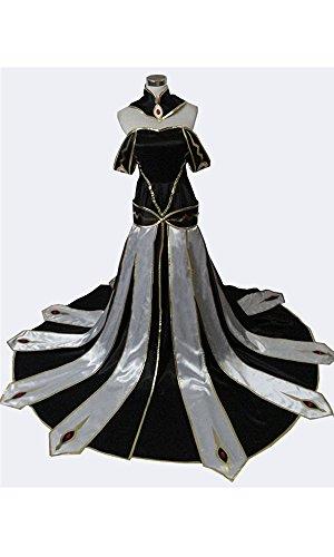[CosEnter Anime Code Geass CC Queen Dress Cosplay Costume] (Cc Code Geass Costumes)