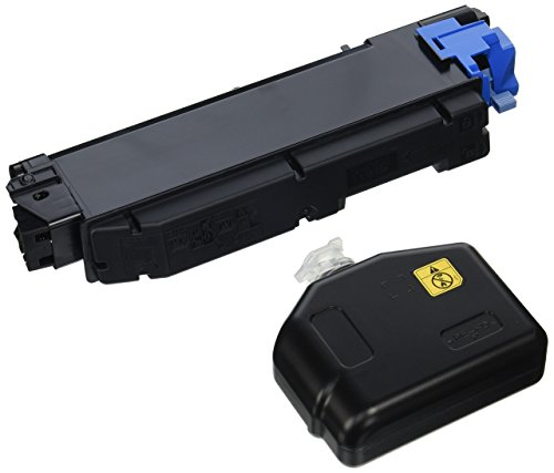 Kyocera 1T02NSCUS0 Model TK-5152C Cyan Toner Kit for Ecosys P6035cdn/M6035cidn/M6535cidn, Genuine Kyocera, Up To 10000 Pages