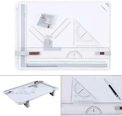 Besay Professional A3 Drawing Table Technical Board with Drawing Head Machine