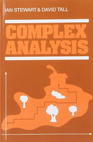 Complex Analysis: Stewart/Tall