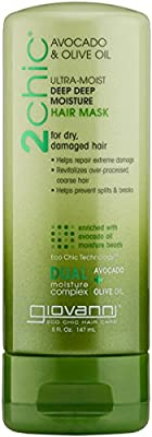 Giovanni 2Chic Hair Mask - Avocado & Olive Oil 5 fl oz Liquid