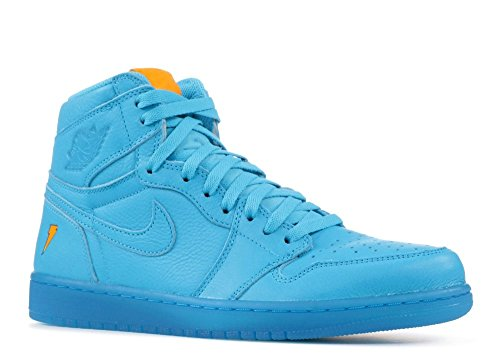 Nike Air Jordan 1 Retro Hi OG G8RD Mens Trainers AJ5997 Sneakers Shoes (UK 9 US 10 EU 44, Blue Lagoon - Uk And G D