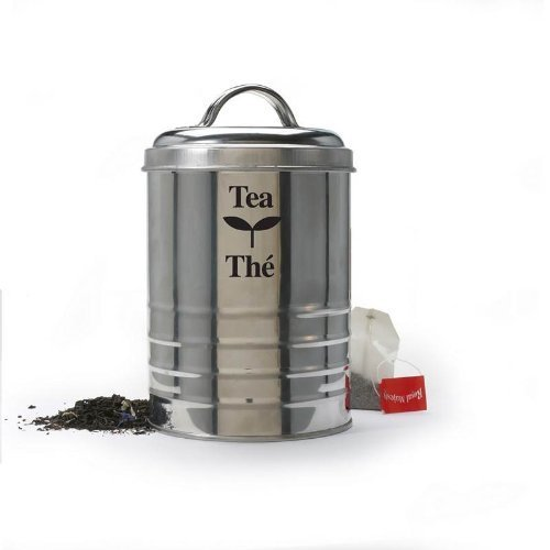 Stainless Steel 14 ounce Tea Canister by Danesco