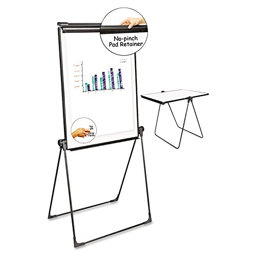 Universal 43030 Foldable Double-Sided Dry Erase Easel, Two Configurations, White Board: 29 x 41 by Universal (Image #1)