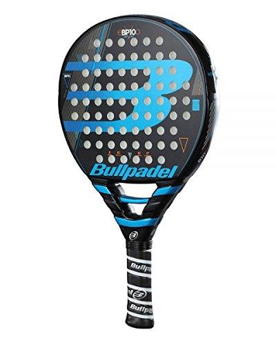 Bullpadel BP 10 2018 Pala de pádel de Tenis, Hombre, Negro/Azul, 0.36