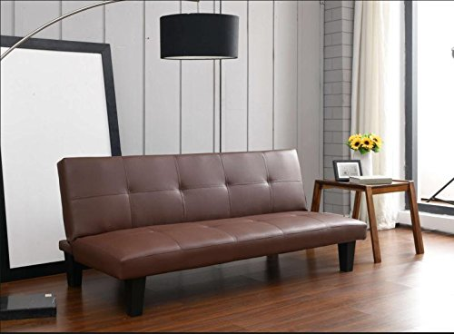 KK Home London París - Clic clac sofá Cama de Piel sintética ...
