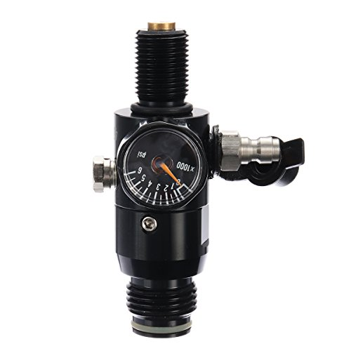0.5L Liter Aluminum Tank Air Bottle With 4500 PSI Regulator For Paintball PCP by Ologymart (Image #2)