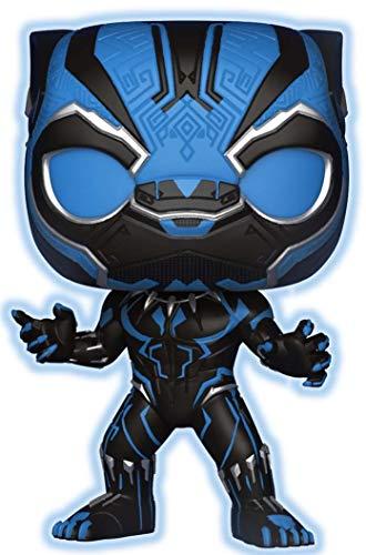 🥇 Funko Marvel Black Panther Glow in Dark  Pop Vinyl Figure