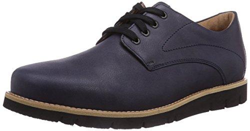 Ganter GREGOR, Weite G - zapatos con cordones de cuero hombre multicolor - Mehrfarbig (navy 3100)