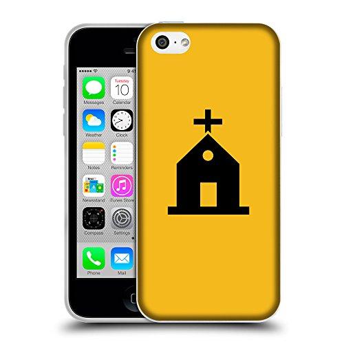 GoGoMobile Coque de Protection TPU Silicone Case pour // Q08460602 Religion 10 ambre // Apple iPhone 5C