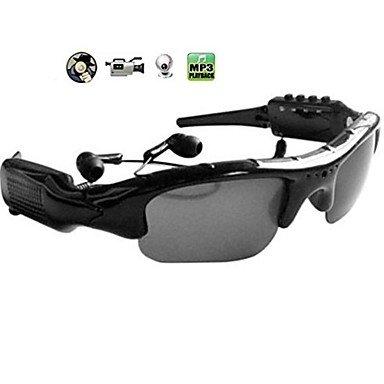 Video SunglassesMP3 player Glasses DV DVR Recorder camcorder Camera Sport Eyewear