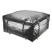 Husky Waterproof Roof Rack Cargo Carrier Storage Travel Bag - 15 cubic feet
