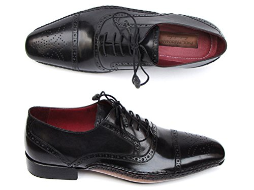 Paul uomo ID scarpe stringhe nero Captoe 5032 Parkman da UrqxwTOr