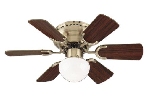 Westinghouse 78603 Petite 6-Blade 30-Inch 3-Speed Hugger-Style Ceiling - Hugger Ceiling Fan 30