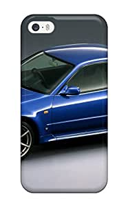Mary David Proctor Case Cover Protector Specially Made For Iphone 5/5s Blue Nissan Skyline