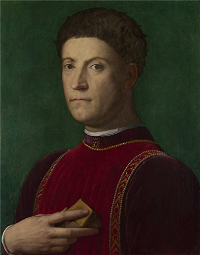 Oil Painting 'Bronzino - Portrait Of Piero De Medici (The Gouty),about 1550-70' 20 x 25 inch / 51 x 65 cm , on High Definition HD canvas prints is for Gifts And Bed Room, Home Office And Kids decor