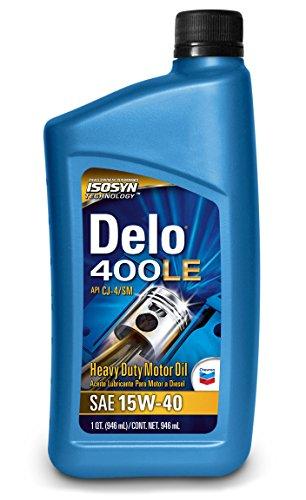 Delo 400 le sde sae 15w 40 motor oil 1 quart bottle pack for Case of motor oil prices