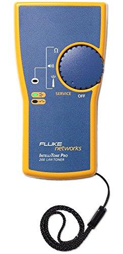 Fluke Networks IntelliTone Pro200 Tone Generator (MT-8200-61-TNR) (Fluke Intellitone 200 Toner And Probe Kit)