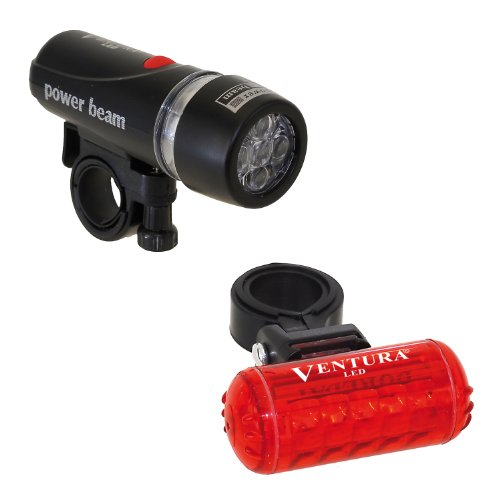 Ventura Bicycle Headlight and Taillight Combo
