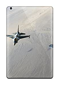 New Style 7262864J75345632 Tpu Case For Ipad Mini 2 With F 15 Eagles And F 16 Fighting Falcon