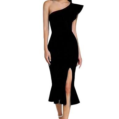 196d2792a58 Besooly Sleeveless Halter Dress Womens African Print Dress Long Beach Maxi  Dress Evening Party Bodycon Dress