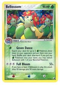 - Pokemon - Bellossom (3) - EX Unseen Forces - Holofoil