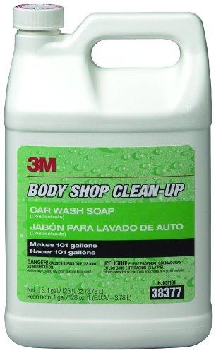 3M 38377 Body Shop Clean-Up Car Wash Soap - 1 Gallon