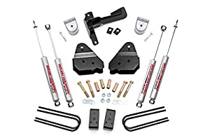 3. Rough Country - 50220 - 3-inch Suspension Leveling Kit w/ Premium N2.0 Shocks for Ford: 17-18 F250 Super Duty 4WD