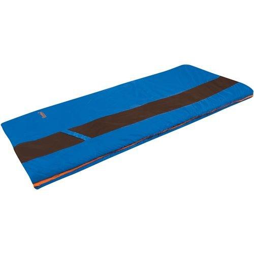 Eureka! Sandstone 30 Degree Rectangular Sleeping Bag; Warm, Comfortable, Lightweight Three-Season, Thermally Efficient Bag for Car and Tent Camping – Regular – Blue/Brown