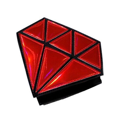 Talla Real Beige Cruzados Única Para Drasawee Bolso Azul Mujer Red 1xqCwB0aO