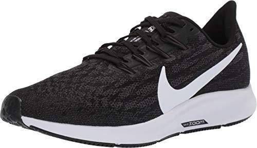 - Nike Women's Air Zoom Pegasus 36 Running Shoe Black/Thunder Grey/White 7.5 M US