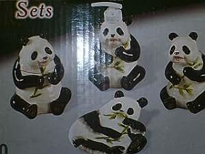 Amazon Com Panda Bear 3 D Ceramic Bathroom Bath