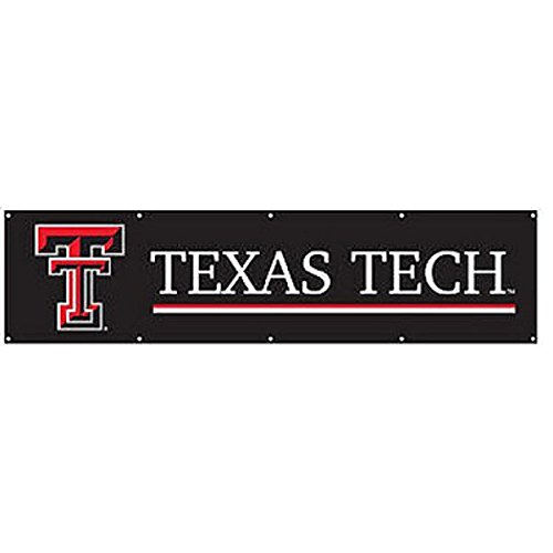 Party Animal Texas TECH RED Raiders Giant 8 X 2 Banner