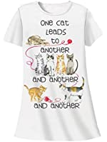 Nightshirt All Cotton One Cat Leads to Another