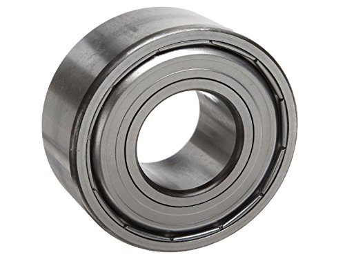 10000 Rpm Clutches - MRC 5203SBKFF Ball Bearing, Double Shielded, No Snap Ring, Metric 17 millimeters ID, 40 millimeters OD, 11/16