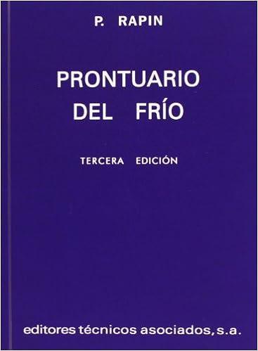 Prontuario Del Frío (Spanish Edition)