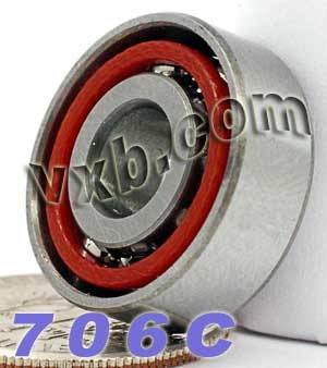 706C Angular Contact Bearing 6x17x6 Miniature Ball Bearings VXB Brand (Angular Ball Bearing)