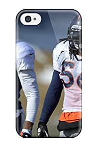 Iphone 4/4s Case, Premium Protective Case With Awesome Look - Denverroncos
