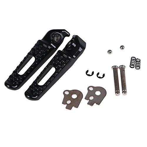 Cbr600rr Rear Sets - Rear Foot Pegs Rests Footrest Pedals For HONDA CBR600RR 2003-2014 CBR1000RR 04-14 CBR1000 CBR600 RR Motorcycle Black