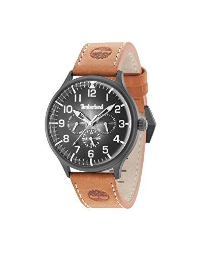 Timberland Blanchard Mens Analog Quartz Watch with Leather Bracelet 15270JSB-02