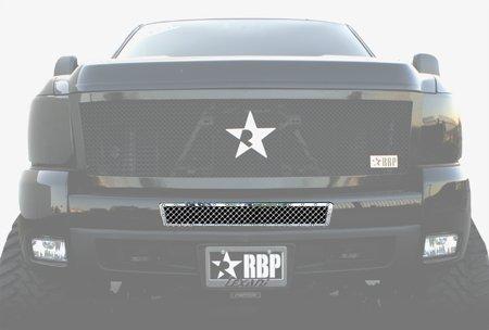 RBP RBP-152110 RX Series Chrome Studded Frame Bumper ()
