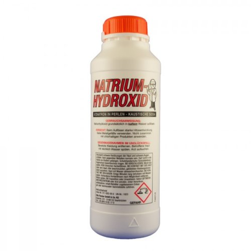Natriumhydroxid techn. 1 Kg