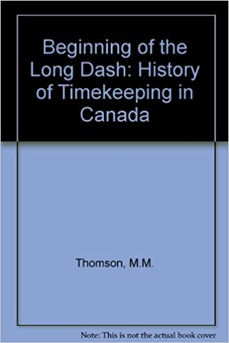 The beginning of the long dash: A history of timekeeping in