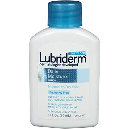 Lubriderm Fragrance Free Daily Moisture Lotion, 1 Ounce - 72 per case.