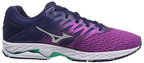 Wine Shoe Running Shadow Mizuno Blue Women's Wave Purple 2 Patriot q0nfFw
