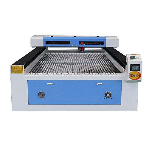 DIHORSE CO2 Laser Cutting Machine for Metal and Nonmetal 1300x2500mm Steel Sheet Laser Cutter AC110V Mixing Laser Cutting Machine (300W)