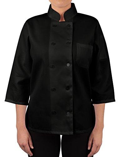 chef black jacket 3 4 - 6