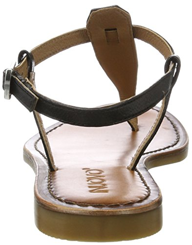 Inuovo 7232, Chanclas para Mujer Schwarz (Black)